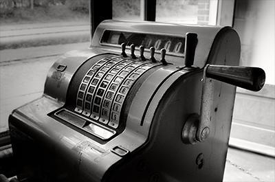 Dinheiro - Caixa Registradora