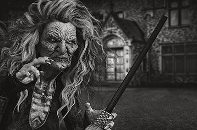 Risada de Bruxa Halloween